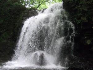 滝の周りは、実にマイナスイオンに包まれて本当に涼しいです♪