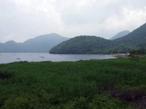 記念に榛名湖を撮りました。