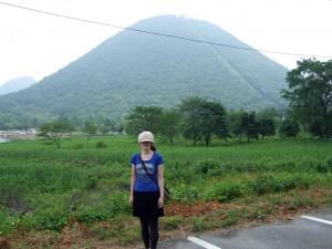 これが榛名山です。