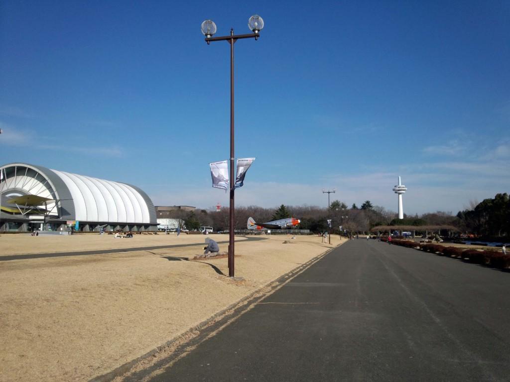 こちらは航空発祥記念館周辺の様子です。