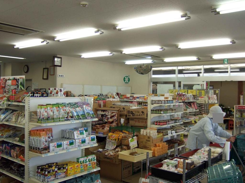 5産物売り場の様子