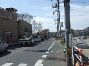 近所の狭くて危なっかしい小金井街道は、2020年のオリンピックに向けて新しい道路をつくっている最中。