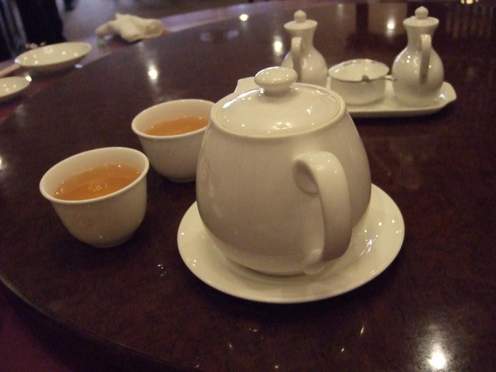 おもてなしのジャスミン茶