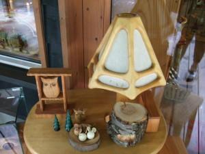 ここは木製品専門店 我蘭憧でした。木製品の他に生活雑貨など売っています。