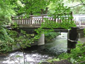 湯川にある橋