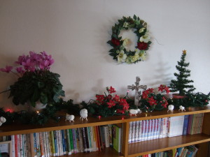 室内の飾り2