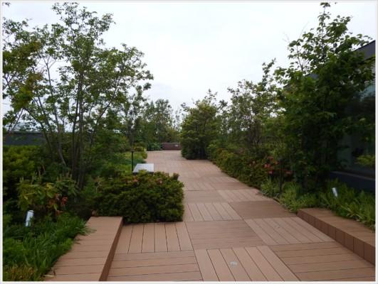 グランエミオの屋上ガーデン