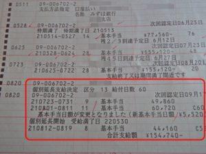 2009年 個別延長給付