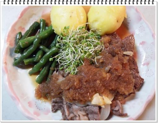 上州和牛の焼肉・北海道産 国産牛ヒレステーキでの欲ばりレシピ