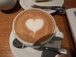 デカフェのカフェラテ