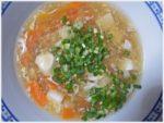 黒酢・しょうが入り 豆腐と卵のヘルシー中華風とろみスープ レシピ