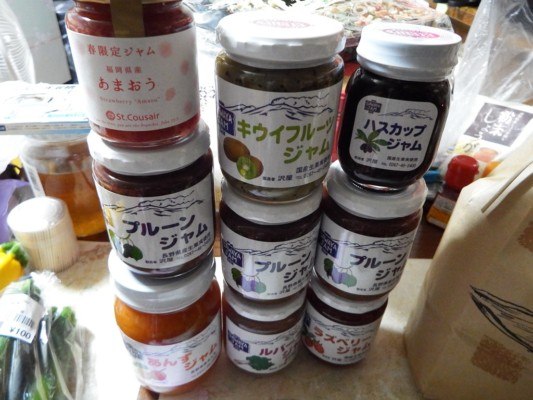 軽井沢の名物 ジャム各種