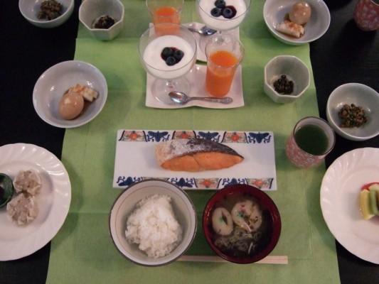 ティンカーベルの朝食