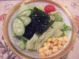 和風のサラダ