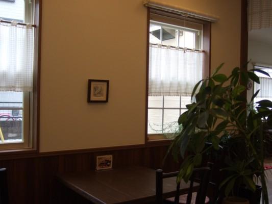 カプリコーンの店内カフェコーナー