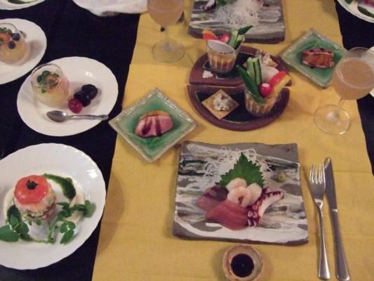 本日のディナー