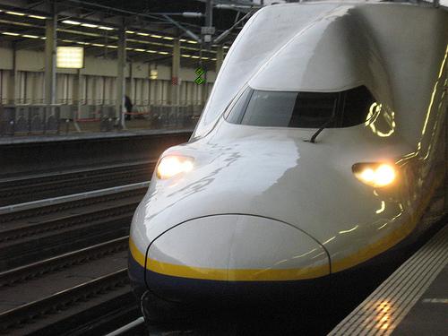 bullet train photo