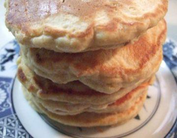 【健康維持のレシピ】全粒粉入りこんがりふっくらパンケーキ