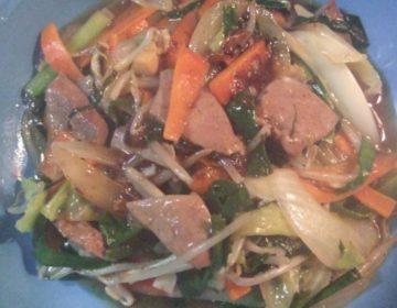 中華のスタミナ定番!豚レバニラ炒め 簡単レシピ
