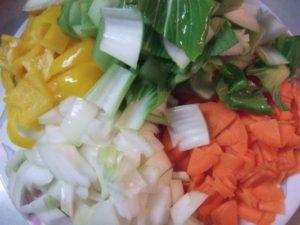 カット済みの各野菜