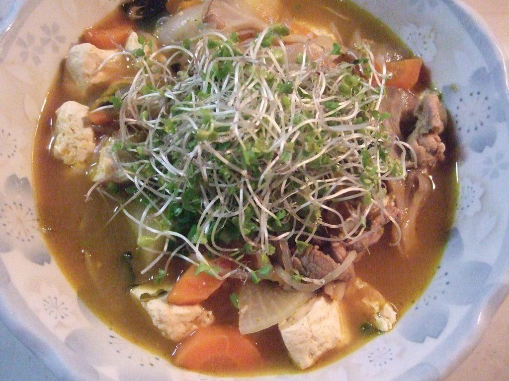 根菜たっぷりの豚汁レシピ
