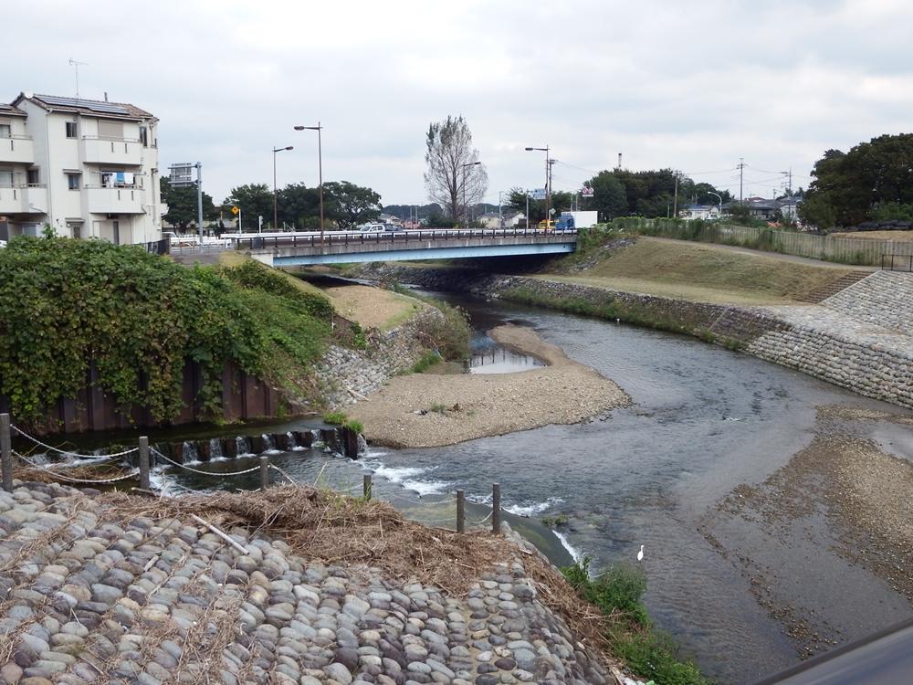 柳瀬川と空堀川の合流地点