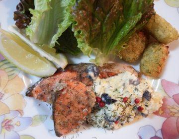 紅鮭のムニエル&タルタルソースのレシピ