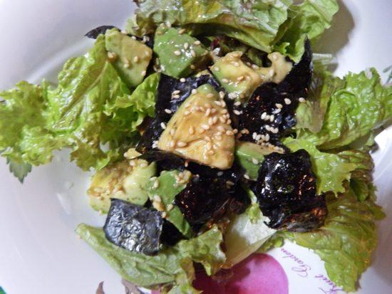 アボカドとレタスの和風サラダ 超簡単レシピ