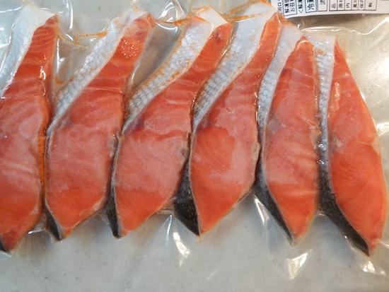 ロシア 紅鮭