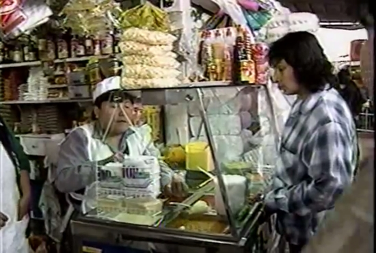 espanol ビデオ(ペルーのリリさん1)