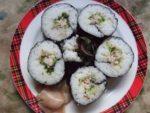 巻き寿司『レタスとカニマヨのサラダ巻き』