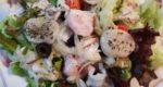 ホタテ&水ダコ刺身を使ったマリネ風サラダ レシピ