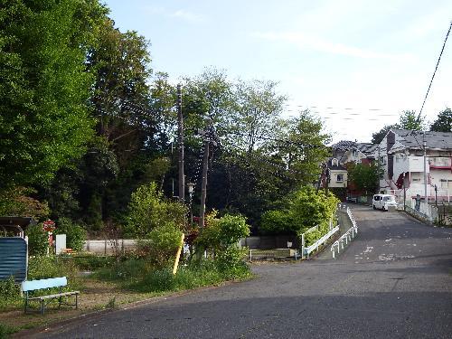 野塩団地の坂道