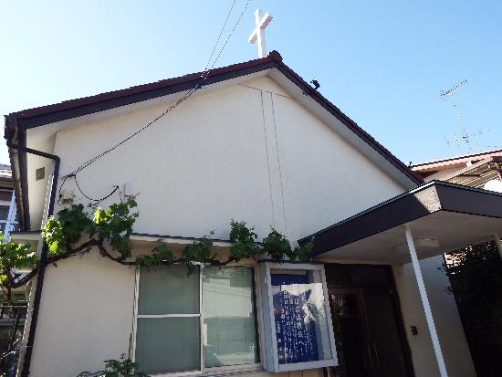 清瀬市元町にある清瀬バプテスト教会