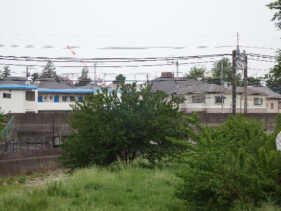 空堀川橋梁(西武池袋線)方面