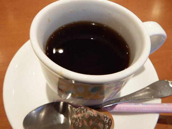 セブンのホットコーヒーを味わう