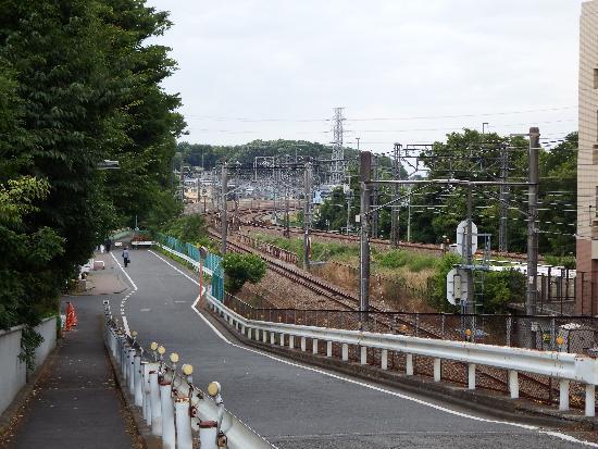 秋津の陸橋