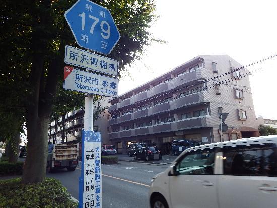 179号 所沢青梅線(所沢市本郷)