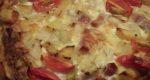 生活クラブのパイシートを使ったレシピ  野菜&ベーコンのキッシュ