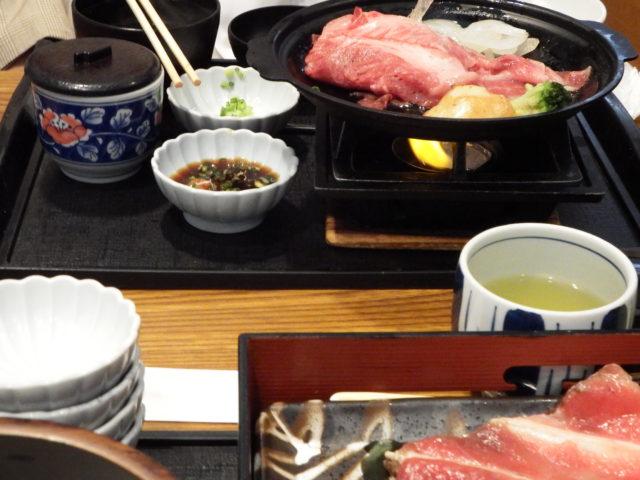 和食ファミリーレストラン『藍屋』にてランチ 期間限定メニュー