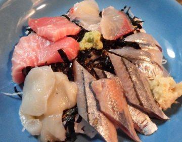 東京・清瀬にある魚三九で買ったお刺身で海鮮すし丼作りました!