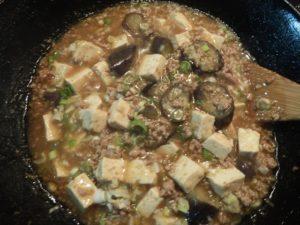 生活クラブの「麻婆豆腐ソース」で揚げ茄子を加えたら麻婆なす豆腐!
